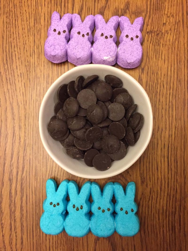 Chocolate Covered Peeps Ingredients