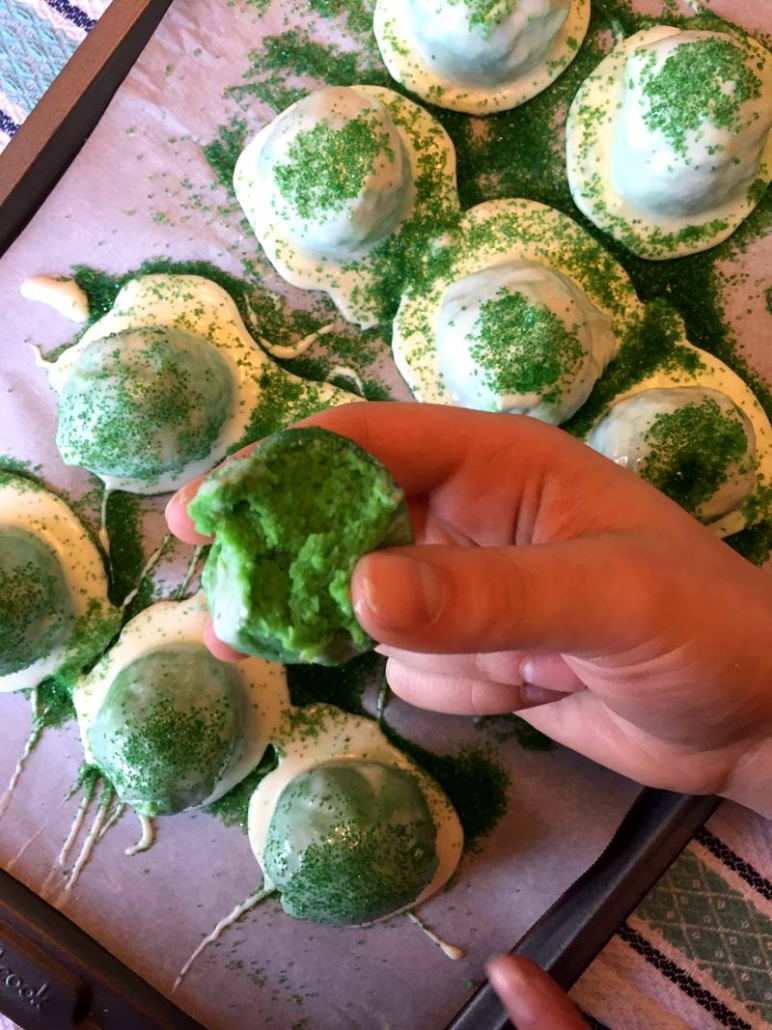 irish cake pops