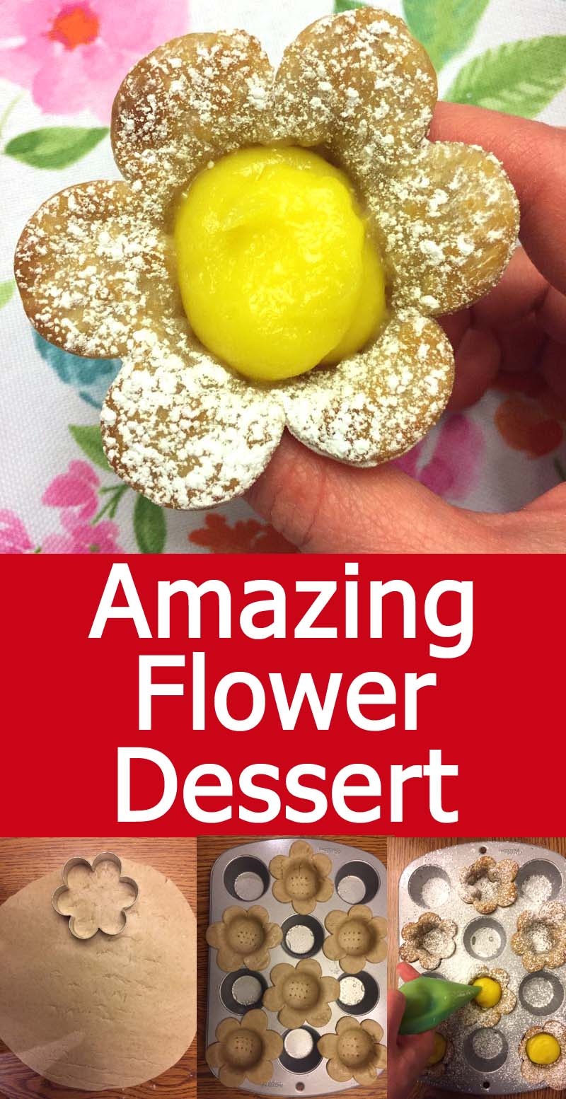 These easy lemon flowers are perfect for Easter and Mother's Day! They are so yummy and cheerful!