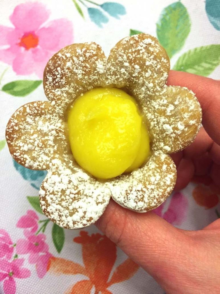Lemon Shaped Mini Tarts