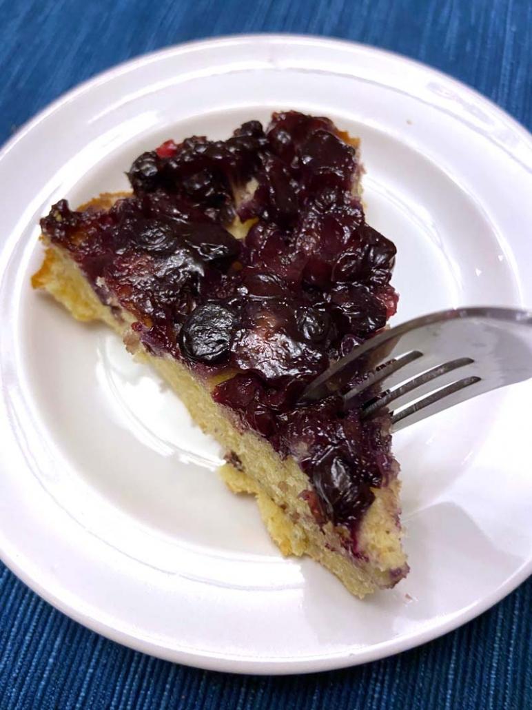 blueberry cake easy