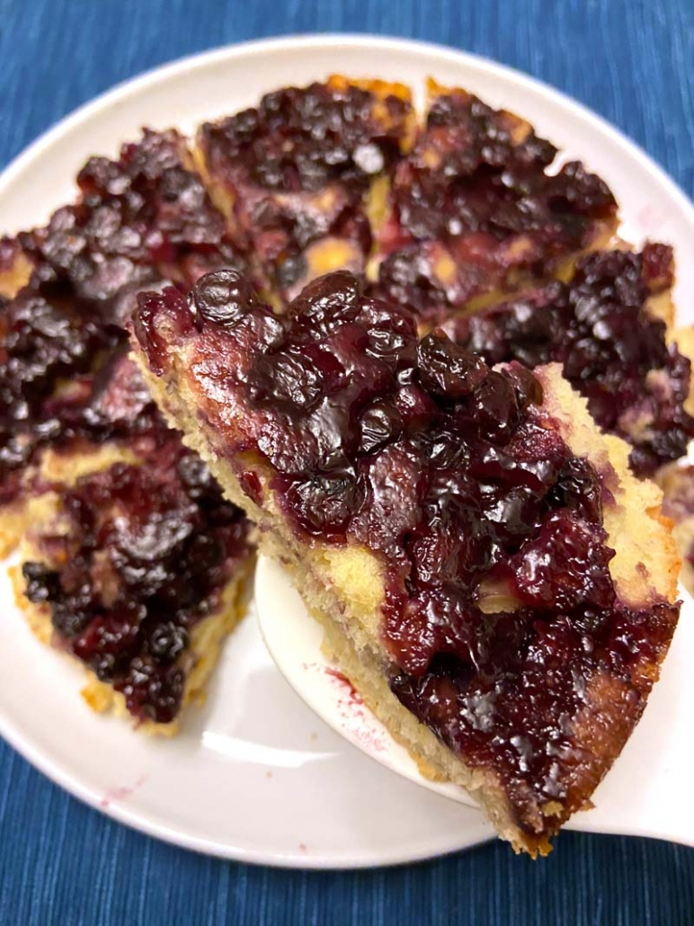 things to do with leftover blueberries