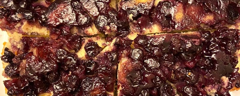 Upside Down Blueberry Cake Recipe