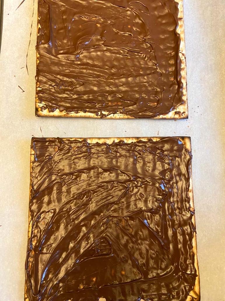 chocolate matzah easy