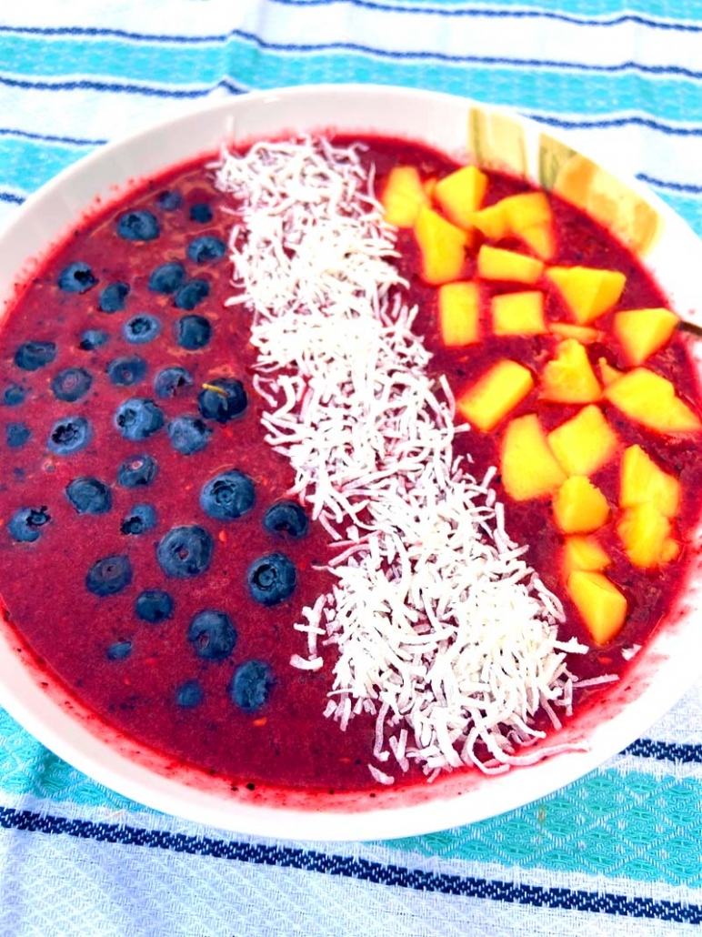 easy smoothie bowl