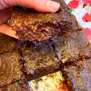 Homemade Raspberry Brownies