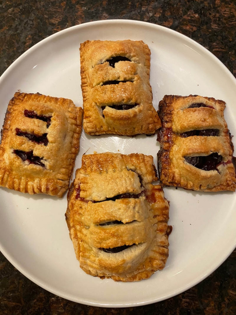cherry turnovers scratch